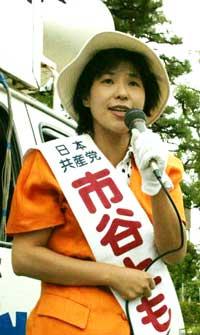 写真 若井康彦まちづくりプランナー(56)=無所属=民主、自由、社民推薦の二氏が告示に向け運動を