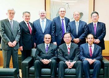 志位委員長、アラブ5カ国大使と会談/中東和平、核問題での協力を確認