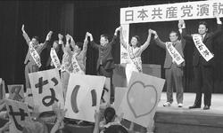 言論攻撃 政権の焦り/小池・いわぶち両氏訴え  宮城