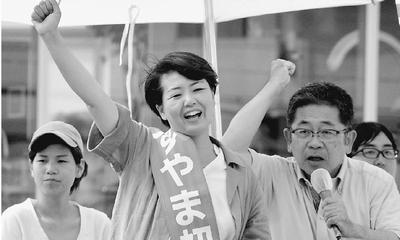 戦争への道止めよう/愛知 小池書記局長・すやま候補