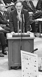 白紙領収書閣僚 苦しい答弁 共産党小池晃参議員が切り込む