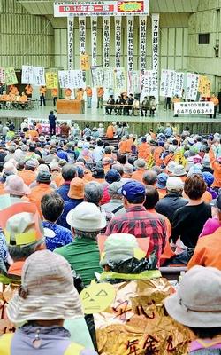 安心な年金へ「一揆」/各地で取り組み 中央集会に2400人/小池書記局長あいさつ