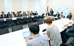 新潟知事選勝利へ全力/市民連合と4野党・1会派 意見交換 参院選へ政策協議を