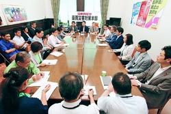 西日本豪雨 各議員から深刻な実態/党対策本部が会合/「救援・復旧の先頭に」小池本部長呼びかけ