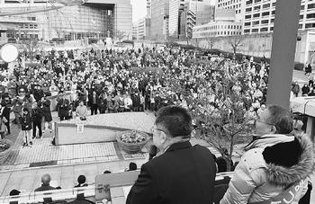 くらし・福祉充実の県政へ くれまつ候補の勝利を/愛知県知事選 小池書記局長訴え