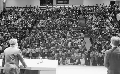 """""""安倍政治サヨナラ"""" 不正一掃の県議選に/小池書記局長が訴え 富山"""