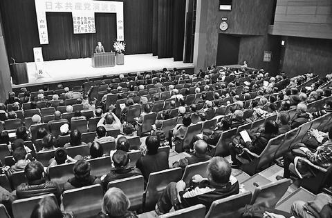 墨田区議選1議席増の6議席へ共産党の風を/演説会 小池書記局長が訴え/東京
