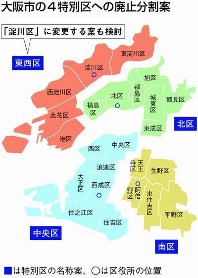 大阪 都 構想 と は わかり やすく