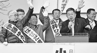 共産党の議席は県民の命綱/群馬・高崎 小池書記局長訴え