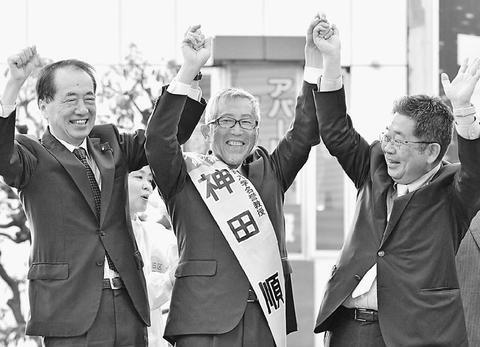 願いに応える区政に/小池書記局長が区長選応援/渋谷・大田