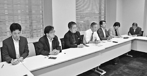 九州北部大雨 油被害の支援さらに 共産党議員団 対策本部会合
