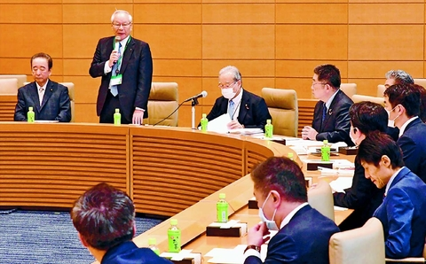 コロナ対策 医療体制強化を 超党派議員と医師会意見交換 小池書記局長が発言