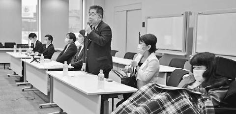 羽田新ルート撤回を 住民・野党が国に要請 小池氏ら参加