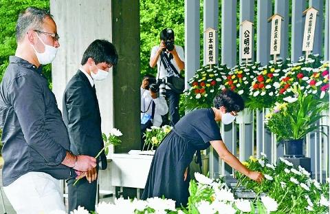 「戦争しない国」守りぬく シベリア抑留犠牲者を追悼