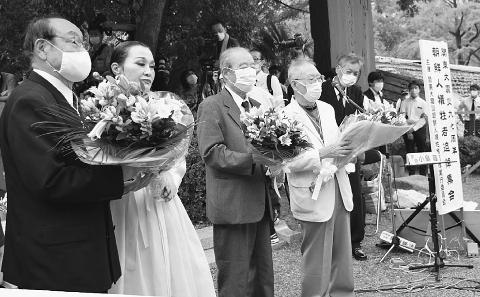 朝鮮人虐殺 二度と 関東大震災時の蛮行忘れず 式典開く