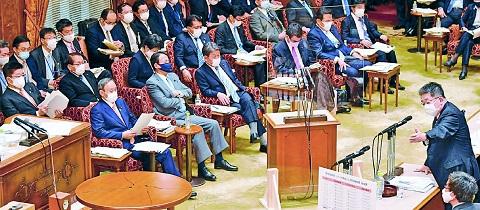 参院予算委 小池書記局長の質問