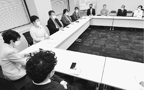 福島県沖地震 党国会議員団が対策本部