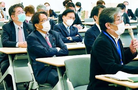 弾圧抵抗議員と交流 ミャンマー議連 小池・井上氏が参加