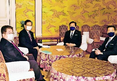総選挙にむけた協力のための協議開始で一致 志位委員長、立民・枝野代表と党首会談