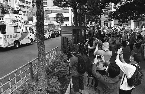 ケアに手厚く平和な東京実現 原氏に託して 江戸川 小池書記局長が訴え