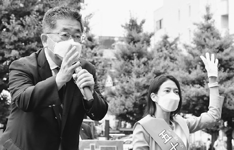 五輪中止・保健所復活の意思示そう 小池書記局長が立民候補応援