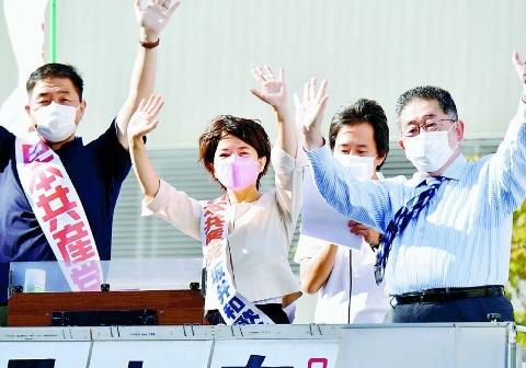 2021総選挙 暮らしに安心と希望を 東京比例4議席躍進 小池氏が訴え 品川