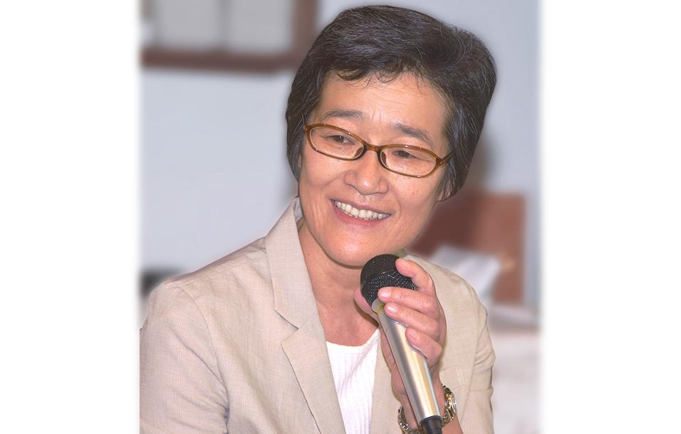 写真・倉林明子参院議員