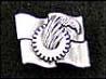 党章バッジ 純銀製 ネジ式