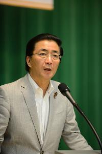 前衛2018年8月号 山下芳生副委員長