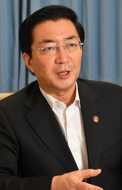 山下芳生「特別月間」推進本部長代理