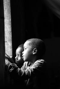 写真・ウガンダの子ども