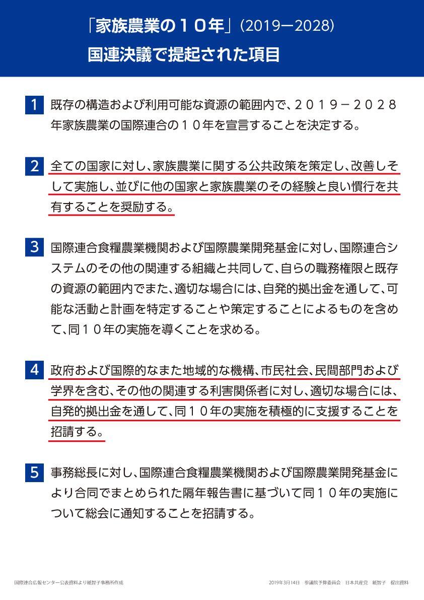 紙智子議員の質問パネル③