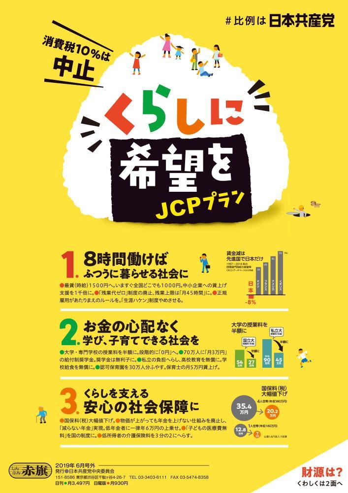 くらしに希望をJCPプラン/財源案
