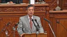 政府財政演説への穀田議員の代表質問